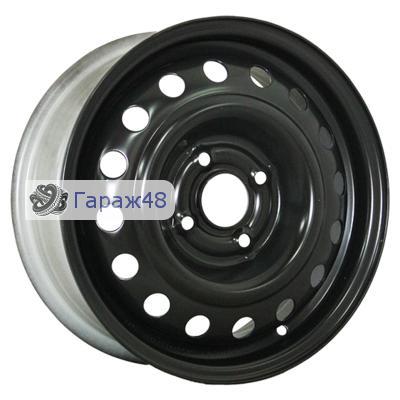 Trebl X40915 R15 / 6J PCD 4x100 ET 40 ЦО 60.1 Штампованные Черный